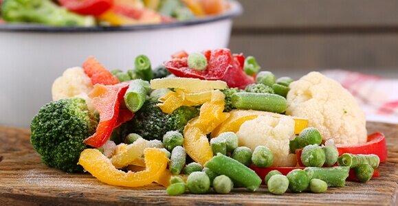 ירקות קפואים בסיטונאות