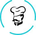 אנו בקפוא זן מאמינים כי אוכל טעים ואיכותי אפשר להכין רק עם חומרי גלם איכותיים ולכן אנו בוחרים בקפידה את חומרי הגלם שאנו עובדים איתם. הירקות, הבצק והבשר שלנו עוברים בדיקות מחמירות, נמצאים בפיקוח מתמיד והופכים לאוכל טעים, איכותי ובריא בכל פעם מחדש.